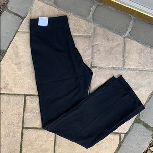 New Croft&Barrow black slacks dress pants straight